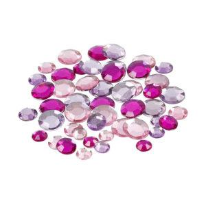 Kristalčki - roza krogci