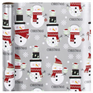 Ovojni papir - snežaki