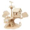 3D sestavljanka - hišica na drevesu
