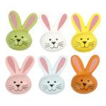 Leseni barvni zajčki
