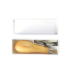 Komplet nožkov za linorez