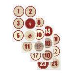 Nalepke koledar