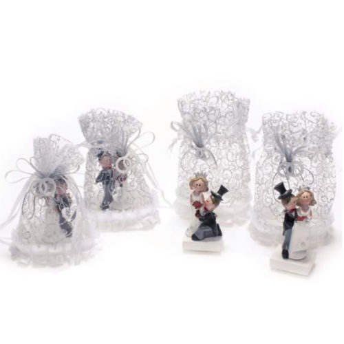 Poročni par kipec