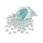 Stekleni delci za mozaik - prozorni
