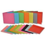 Vizitke s kuvertami - barvne