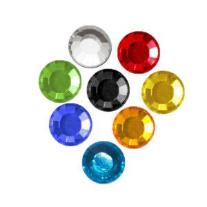 Kristali za likanje - enobarvni