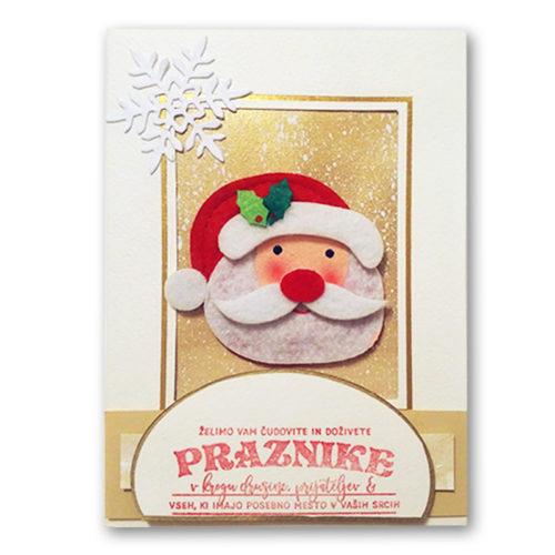 Paketek božičnih voščilnic