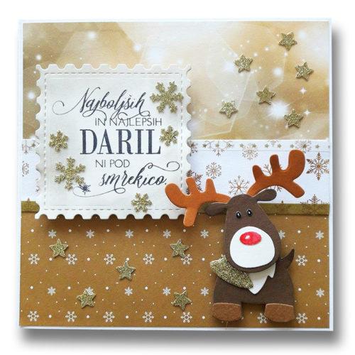 Božične in novoletne voščilnice
