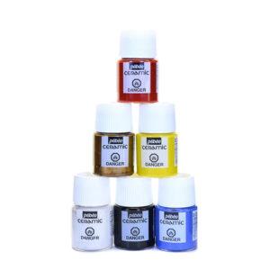Set CERAMIC barv za keramiko 6x20ml